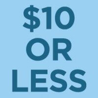 $10 or less